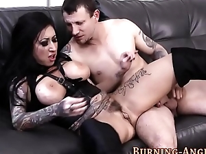 Gothic babes pussy squirt