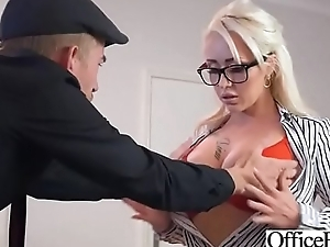 Slut Girl (Christina Shine) With Round Huge Tits Get Nailed In Office vid-08