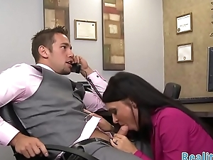 Milf secretary fucked in the situation