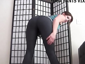 Let me give you a handjob in my new yoga panties JOI