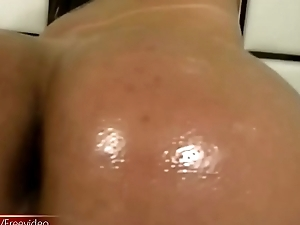 T-girl ladystick and sexy pain in the neck get shiny from oil and cumshot