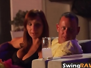 Night party with horny amateur swinger couples