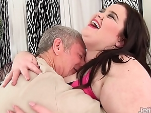 Big boobed plumper Holly Jayde fucked approving