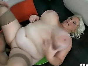 Horny guy fucks a BBW complain