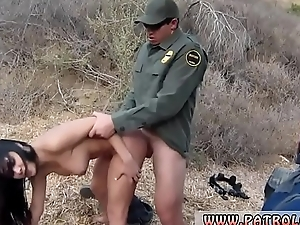 Hawt police Stunning Mexican floozie Alejandra Leon tries to help her