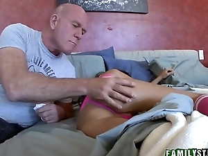 Step Daughter Triumvirate St. Clair And Panty Sniffing Step Dad