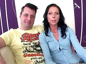 Rough Sex For First Time Euro Swinger