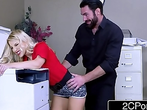 Sexy Ass Business Woman Ashley Fires Needs Big &amp_ Stiff Cock To Set Will not hear of Straight