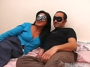 Real italian couple introduces himself before a good fuck